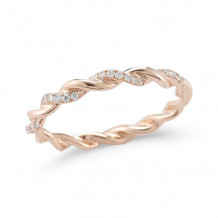 Dana Rebecca 14k Rose Gold Carly Brooke Eternity Band - R691