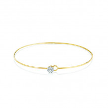 Phillips House 14k Yellow Gold Wire Infinity Love Always Diamond Bracelet - B0115DY