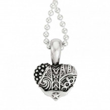 Lagos Sterling Silver Hearts of LAGOS Heart of Texas Pendant