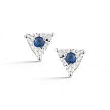 Dana Rebecca 14k White Gold Emily Sarah Stud Earrings - E2748