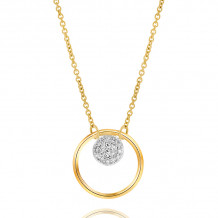 Phillips House 14k Yellow Gold Diamond Necklace - N1704DY-JB
