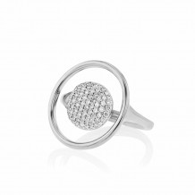 Phillips House 14k White Gold Diamond Ring - R1710DW