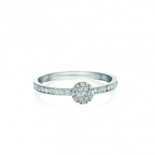 Phillips House 14k White Gold Affair Stackable Diamond Ring - R0122DW