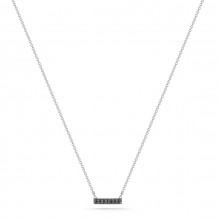 Dana Rebecca 14k White Gold Sylvie Rose Bar Necklace - N207