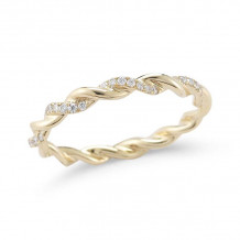 Dana Rebecca 14k Yellow Gold Carly Brooke Eternity Band - R690