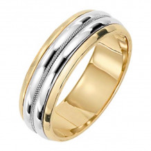 Lieberfarb Platinum Classic Wedding Band - MT70747