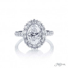 JB Star Plantinum Diamond Engagement Ring - 2371-021