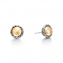 John Hardy Classic Chain Collection Round Stud Earrings - EZ97176