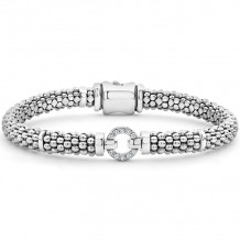 Lagos Silver Diamond Bracelet - 05-80758-S007