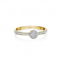 Phillips House 14k Yellow Gold Diamond Infinity Stackable Ring