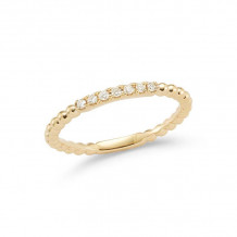 Dana Rebecca 14k Yellow Gold Poppy Rae Diamond Band - R905
