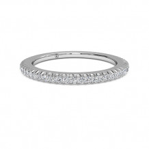 Ritani Women's Open Micropave Diamond Eternity Wedding Band - 33700