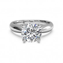 Ritani Solitaire Diamond Cathedral Tapered Engagement Ring - 1R7241