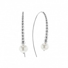 Lagos Sterling Silver Signature Caviar Pearl Earrings - 01-81616