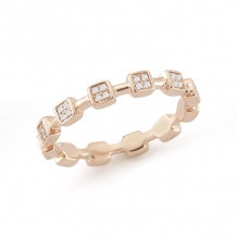 Dana Rebecca 14k Rose Gold Jeanie Ann Eternity Band - R736