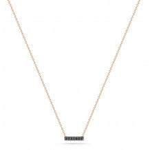 Dana Rebecca 14k Rose Gold Sylvie Rose Bar Necklace - N244