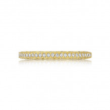 Tacori 18k Yellow Gold Crescent Anniversary Wedding Band - 2616B12Y