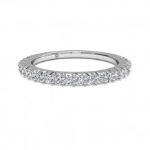 Ritani Women's Open Micropave Diamond Eternity Wedding Band - 33705