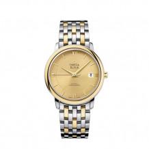 Omega De Ville Prestige Two Tone Watch - 424.20.37.20.08.001