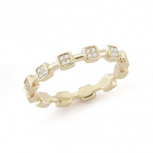 Dana Rebecca 14k Yellow Gold Jeanie Ann Eternity Band - R735