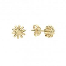 Lagos Caviar 18k Yellow Gold Stud Earrings - 01-10982-00
