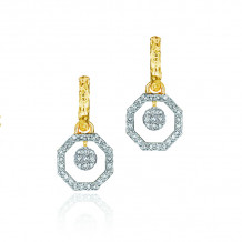 Phillips House 14k Yellow Gold Hero Hoop Diamond Earrings - E3003DY