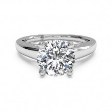 Ritani Solitaire Diamond Cathedral Engagement Ring - 1R7231