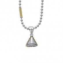 Lagos Sterling Silver Diamond Necklaces - 07-81100-DDML