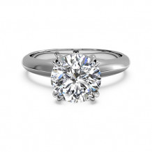 Ritani Solitaire Diamond Knife-Edge Tulip Engagement Ring - 1R7262