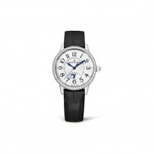 Jaeger-LeCoultre White Stainless Steel Diamond Rendez-Vous Men's Watch - 3468421