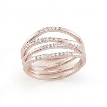 Dana Rebecca 14k Rose Gold Aria Selene Multi Band Ring - R499