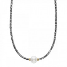 Lagos 18k Gold & Sterling Silver Luna Pearl Necklace - 04-80969