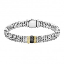 Lagos Sterling Silver Diamond Lux Diamond Bracelet - 05-81263-BDM