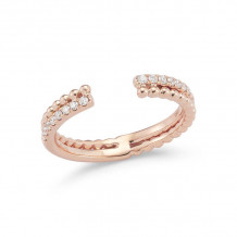 Dana Rebecca 14k Rose Gold Poppy Rae Double Band - R924