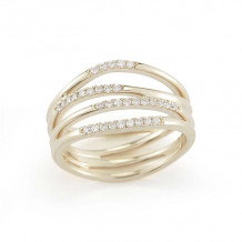 Dana Rebecca 14k Yellow Gold Aria Selene Multi Band Ring - R498