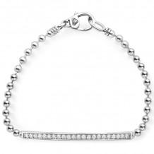 Lagos Caviar Silver Bracelet - 05-81222-DDM