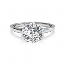 Ritani Solitaire Semi-Bezel-Set Diamond Engagement Ring - 1R1065