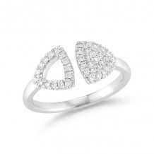 Dana Rebecca 14k White Gold Emily Sarah Diamond Ring - R564-6