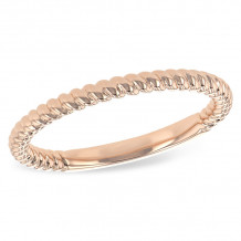 Allison Kaufman 14k Rose Gold Classic Wedding Band - D217-27720_P