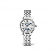 Jaeger-LeCoultre White Stainless Steel Diamond Rendez-Vous Men's Watch - 3468190