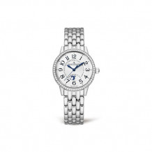 Jaeger-LeCoultre White Stainless Steel Diamond Rendez-Vous Men's Watch - 3468121