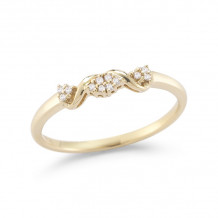 Dana Rebecca 14k Yellow Gold Carly Brooke Diamond Ring - R694-5.5