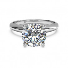 Ritani Solitaire Diamond Knife-Edge Engagement Ring - 1R7286
