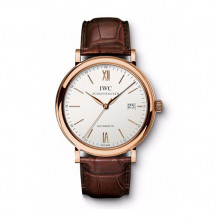IWC 18k Rose Gold Portofino Men's Watch