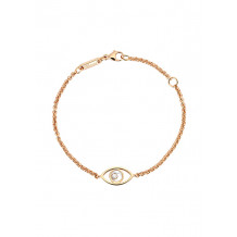 Chopard Good Luck Charms Rose Gold Evil Eye Bracelet - 14487