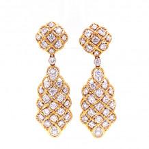 Jay Roberts 14k Yellow Gold Earrings