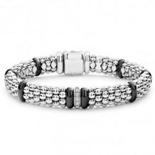 Lagos Silver Diamond Bracelet - 05-81334-CB7