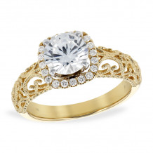 Allison Kaufman 14k Yellow Gold Diamond Semi-Mount Engagement Ring - K217-27665_Y-