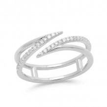 Dana Rebecca 14k White Gold Sarah Leah Diamond Band - R873