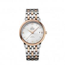 Omega De Ville Prestige Two Tone Watch - 424.20.37.20.02.002